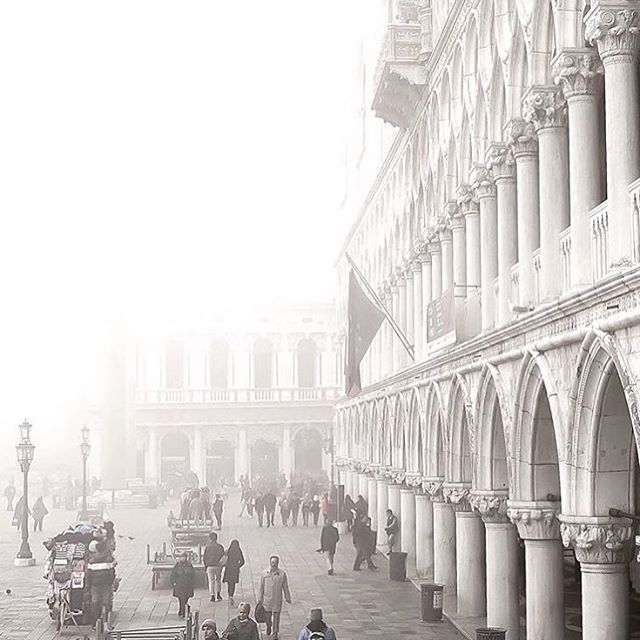 Indeed hulyaozkurt Venice is something beautiful in the fog
